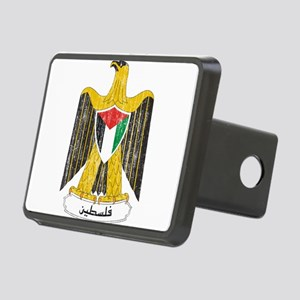 Palestine Coat Of Arms Rectangular Hitch Cover