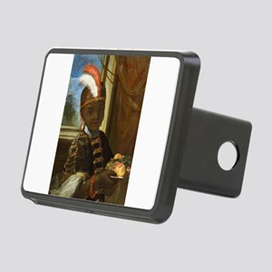 african moorish boy Rectangular Hitch Cover