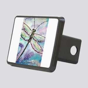 Dragonfly! Nature art! Rectangular Hitch Cover