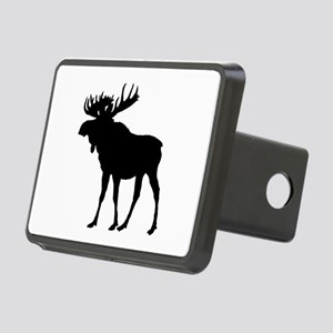 Moose: Black Rectangular Hitch Cover