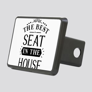 The best seat in the house Rectangular Hitch Cover