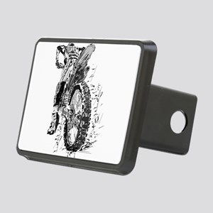 Motor Cross Rectangular Hitch Cover