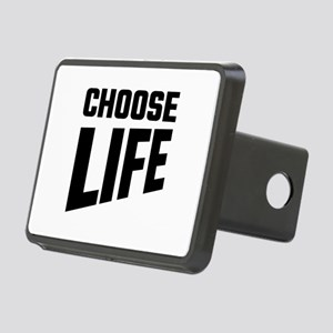 Choose Life Rectangular Hitch Cover