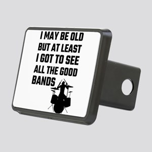 I May Be Old But At Least Rectangular Hitch Cover