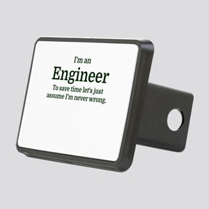 I'm an Engineer To save ti Rectangular Hitch Cover