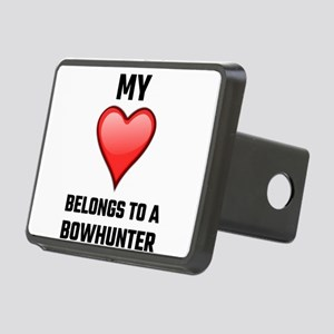 My Heart Belongs To A Bowh Rectangular Hitch Cover