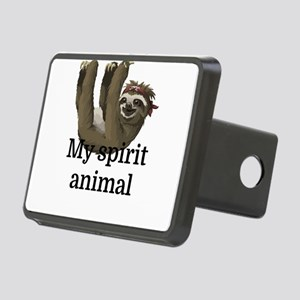 My Spirit Animal Rectangular Hitch Cover