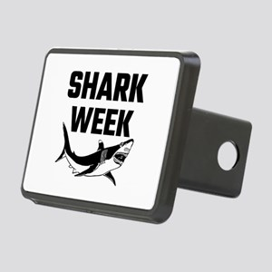 Shark Week Rectangular Hitch Cover