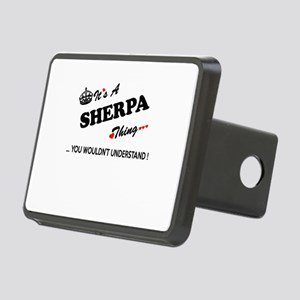 SHERPA thing, you wouldn't Rectangular Hitch Cover