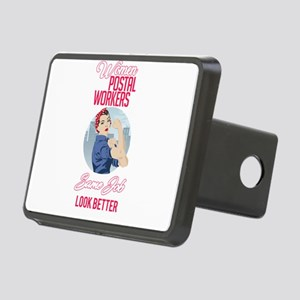 Women Postal Workers Rectangular Hitch Cover