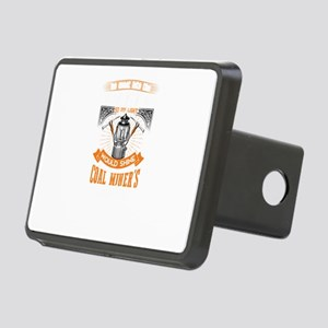 Coal Miner Drink ware Rectangular Hitch Cover