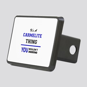 It's a CARMELITE thing, yo Rectangular Hitch Cover