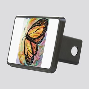Orange Butterfly! Nature art! Rectangular Hitch Co