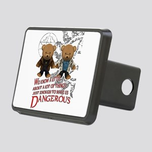 Winchester teddy bears Rectangular Hitch Cover