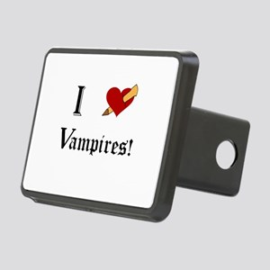 I Slay Vampires Hitch Cover