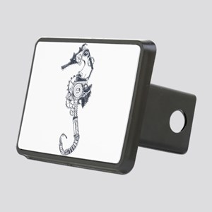 Silver Industrial Sea Horse Rectangular Hitch Cove