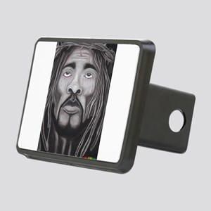 Black Jesus Hitch Cover