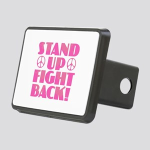 Stand Up Fight Back Rectangular Hitch Cover