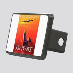 Vintage poster - Air Franc Rectangular Hitch Cover