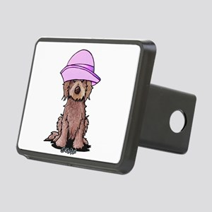 Girlie Doodle Rectangular Hitch Cover