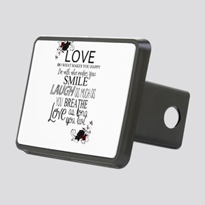 Love Rectangular Hitch Cover