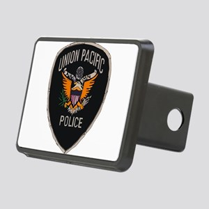 Union Pacific Police patch Rectangular Hitch Cover