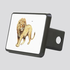 Lion Animal Rectangular Hitch Cover