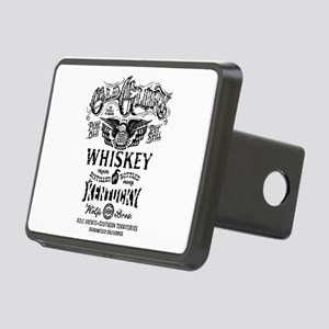 whiskey,whisky, booze, bee Rectangular Hitch Cover