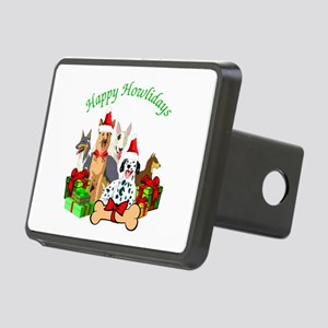 Howliday Dogs Rectangular Hitch Cover