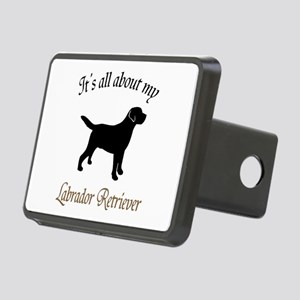 All About Lab Rectangular Hitch Cover
