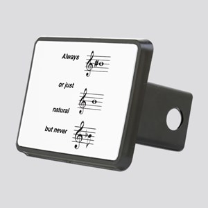 Always b Sharp Rectangular Hitch Cover