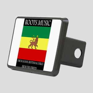 Roots-Music-Flag-Ethiopia- Rectangular Hitch Cover