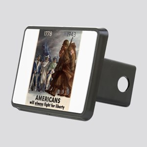 3-LL321 Rectangular Hitch Cover