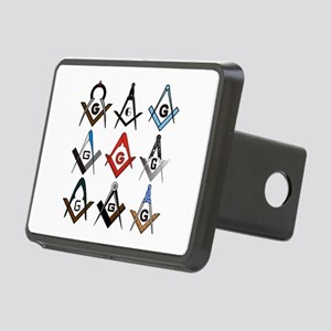 Square and Compass Sampler Rectangular Hitch Cover