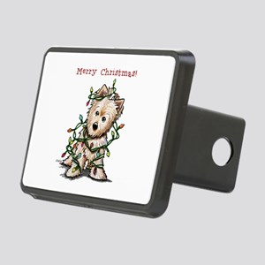 Christmas KiniArt Norwich Rectangular Hitch Cover