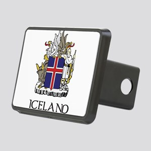 Coat of Arms of Iceland Rectangular Hitch Cover