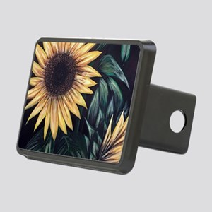 Sunflower Life Rectangular Hitch Cover