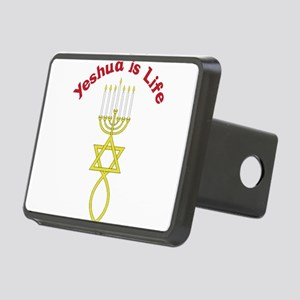 Yeshua Is Life Rectangular Hitch Cover