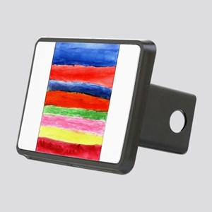 Abstract art Rectangular Hitch Cover