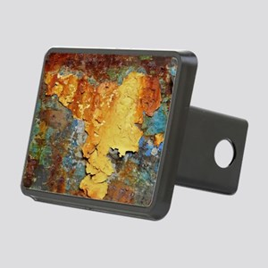 Colors of Rust, rust-art Rectangular Hitch Cover