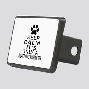 Greater Swiss Mountain Dog Rectangular Hitch Cover