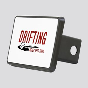 Drifting Never Gets Tired Rectangular Hitch Cover