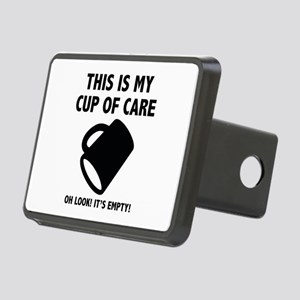 Cup Of Care Rectangular Hitch Cover
