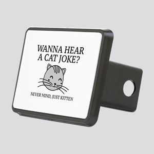 Just Kitten Rectangular Hitch Cover