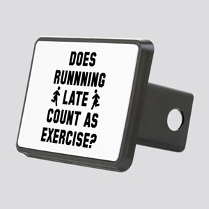 Running Late Rectangular Hitch Cover