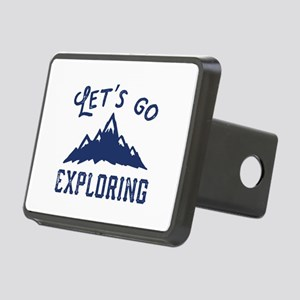 Let's Go Exploring Rectangular Hitch Cover