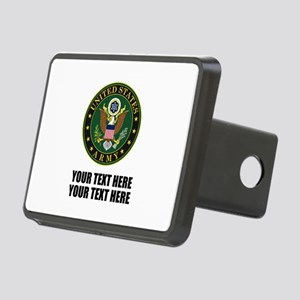 US Army Symbol Rectangular Hitch Cover
