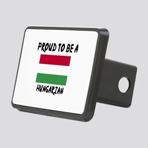 Proud To Be Hungarian Rectangular Hitch Cover