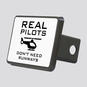 Real Pilots Rectangular Hitch Cover