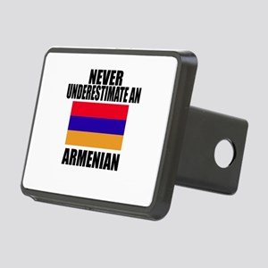 Never Underestimate Armeni Rectangular Hitch Cover